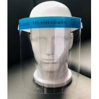 MZ 5 Víztiszta arcvédő, páramentes, folyadékok fröccsenése ellen, szivacsos homlokvédővel és állítható gumipánttal